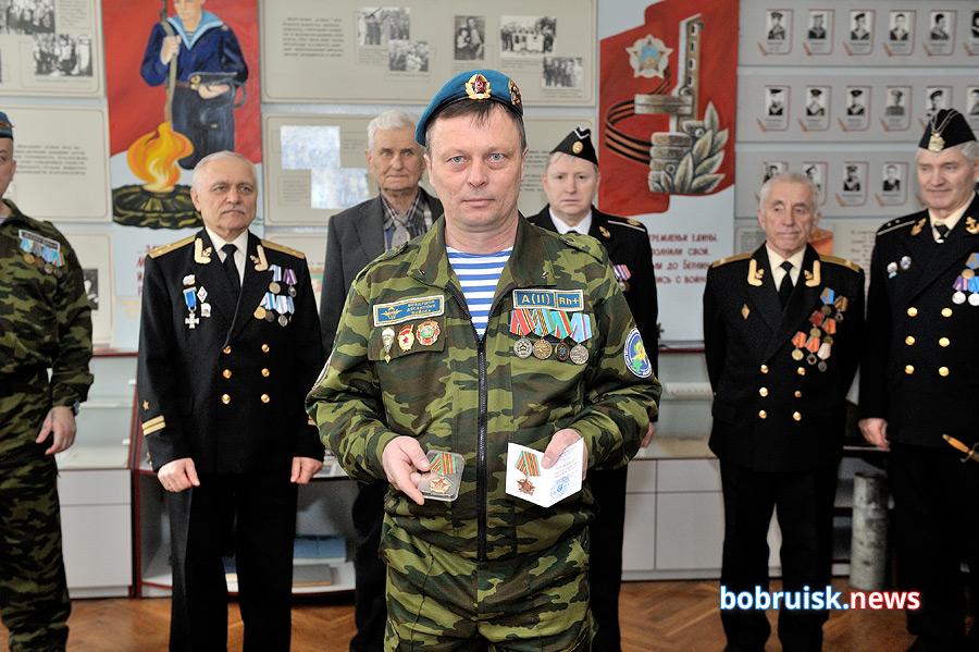 В Бобруйске отметили столетний юбилей Днепровской флотилии