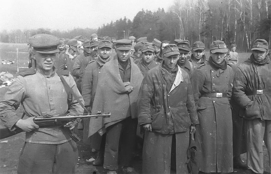 В советском плену: воспоминания немецких военнопленных