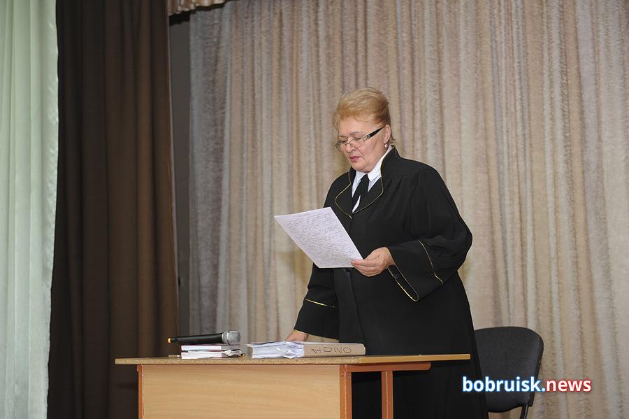 «Скелеты» вшкафу (инашкафу): в школе №1 Бобруйскапрошел выездной суд понаркоделу
