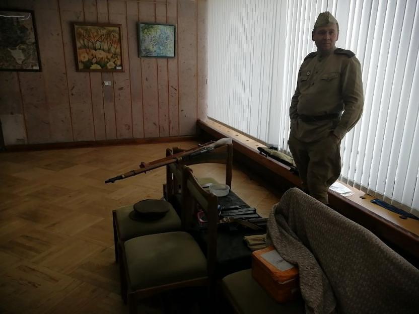 Во Дворце искусств Бобруйска проходит необычная выставка