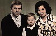 Валера Алексеев с родителями