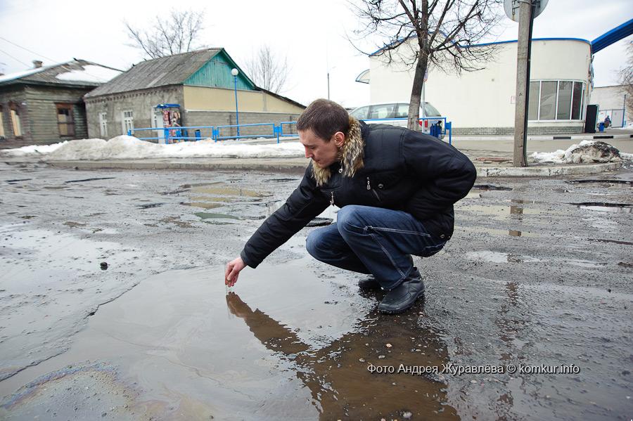 О ремонте дорог в Осиповичах