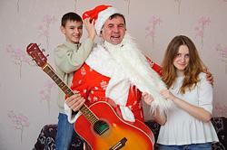 Дед Мороз сулицы Волшебной