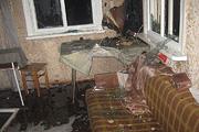 Сгорели дача и частный дом