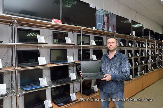 В «Мегабайт» за ноутбуками