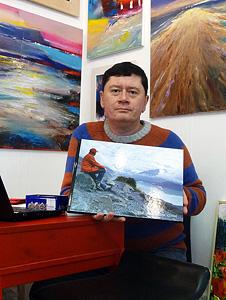 Автопортрет иавтограф Геннадия Иванова