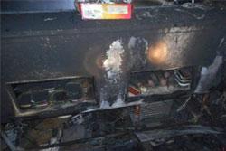 В Бобруйском районе ночью горел магазин