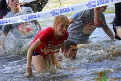 Бобруйчанка финишировала третьей в «Забеге отважных»