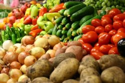 Изменчивые цены на овощную продукцию