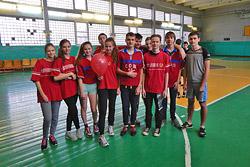 Бобруйские школьники: прыжки на