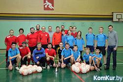 Бобруйские священники сыграли в футбол на Рождество