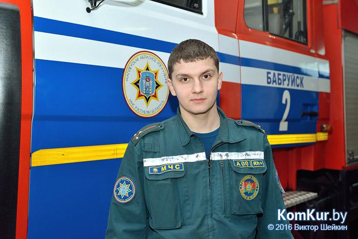 Полковник Андрей Бабин: более тысячи боевых выездов ежегодно
