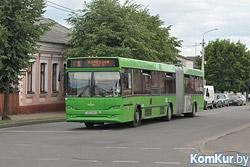 20 февраля в Бобруйске изменится маршрут автобусов № 6