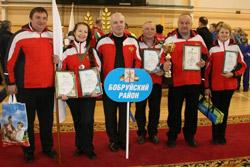 Команда Бобруйского района победила на спартакиаде для депутатов Могилевщины
