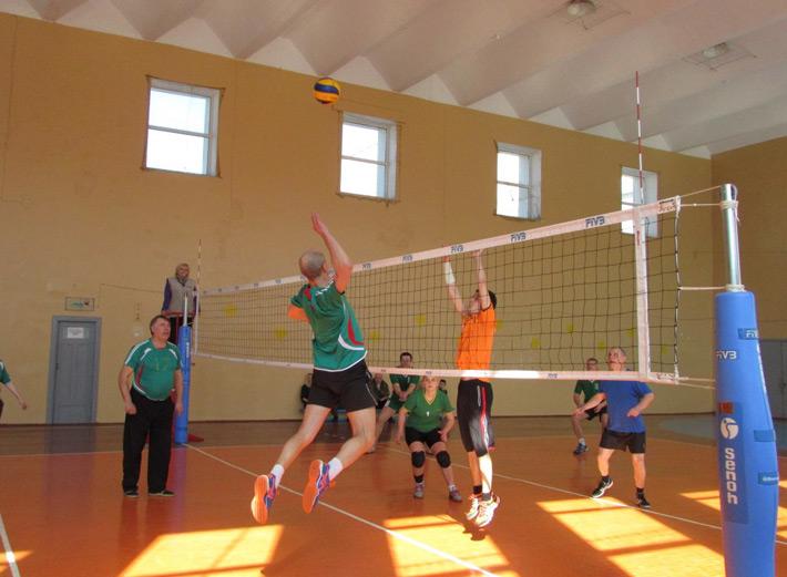 Бобруйские педагоги сыграли в волейбол