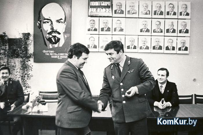 Первый начальник УВД Бобруйска Александр КАЗУСЕНОК