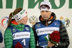 Первый тренер Домрачевой рассказал, когда родит Дарья и назвал пол ребенка