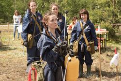 В Бобруйске прошли соревнования санитарных дружин