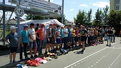 В Бобруйске прошли республиканские соревнования по автомодельному спорту.