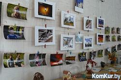 В бобруйской библиотеке открылась летняя фотовыставка