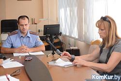 Актуальные вопросы поднимались 15 июля во время встречи начальника УВД БобруйскаА.В.Говорако с представителями средств массовой информации города.