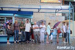 Дождливо и прохладно будет в Беларуси на выходных