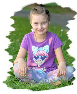 София Петруша, 6 лет.
