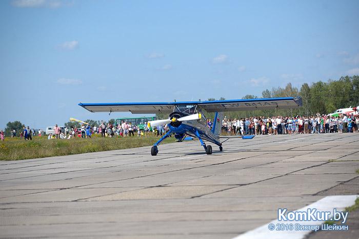 В Бобруйске с размахом отметили день Военно-воздушных сил