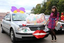 Представительницы Бобруйска и Бобруйского района приняли участие в конкурсе «Автоледи»
