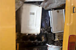В Бобруйске задержан «Мерседес-Бенц» с цветным металлом