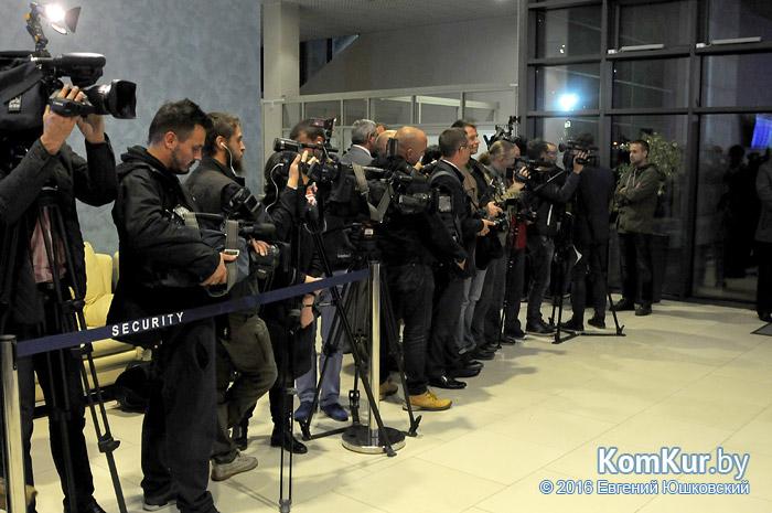 «Коммерческий курьер» встретил Игоря Бокого в Минском аэропорту
