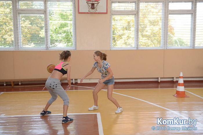 Бобруйский баскетбол: первый бросок