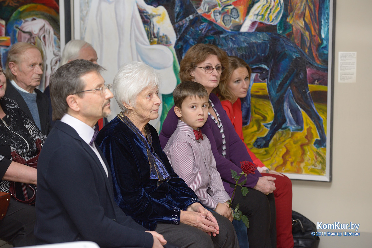 Выставка Рубцова в Бобруйске