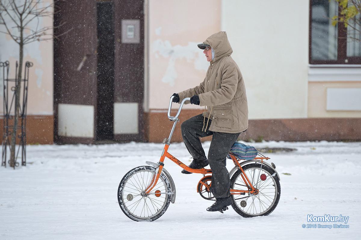 Бобруйск под снегом