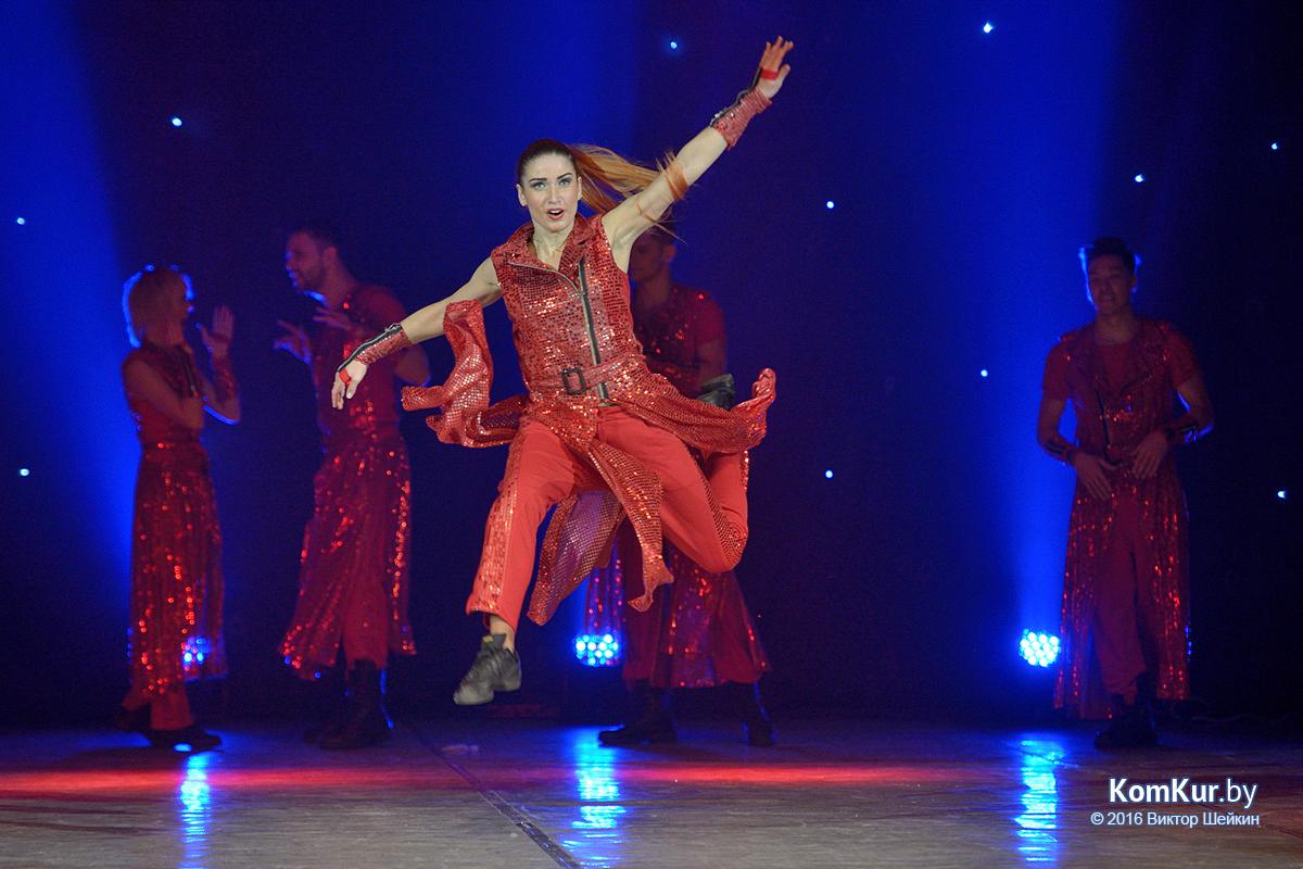 В Бобруйске выступил шоу-балет «Тодес»