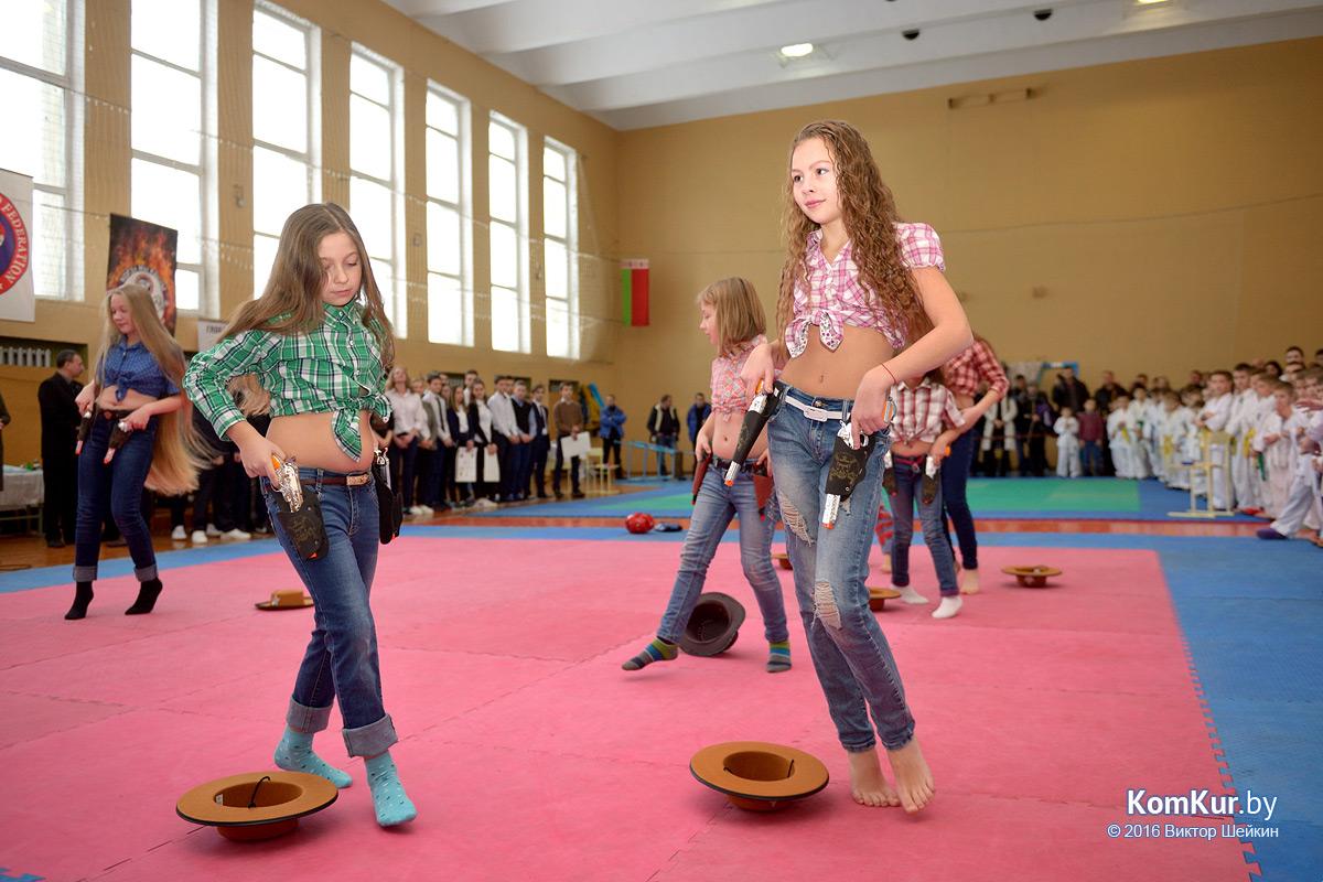 В Бобруйске прошли соревнования по глобальному таэквондо