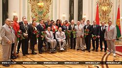 Бобруйские спортсмены Игорь Бокий и Дарья Наумова получили ордена из рук Президента.