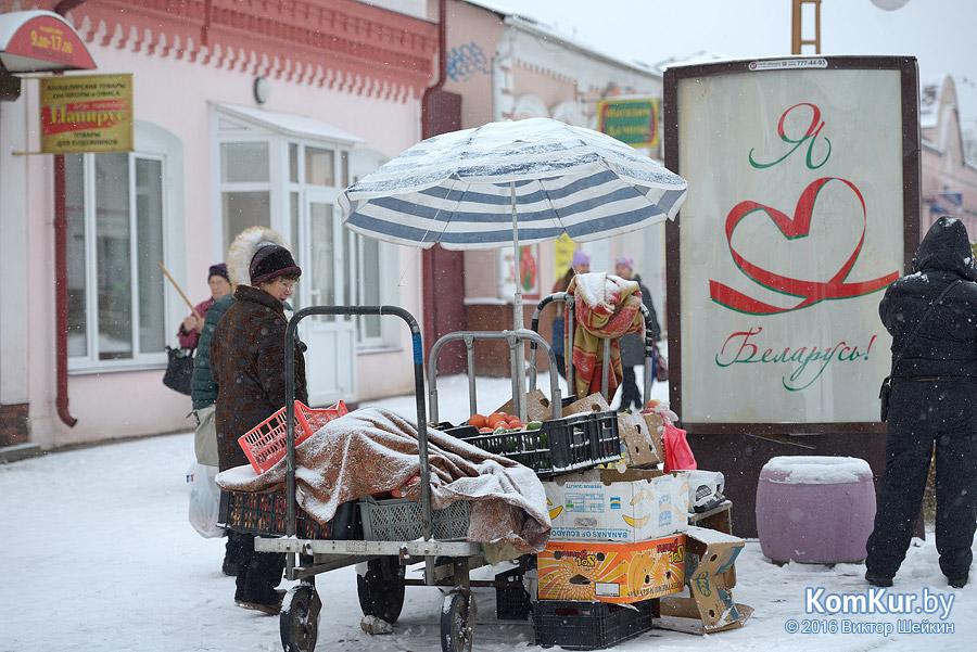 Уличная торговля Бобруйска: обратная сторона