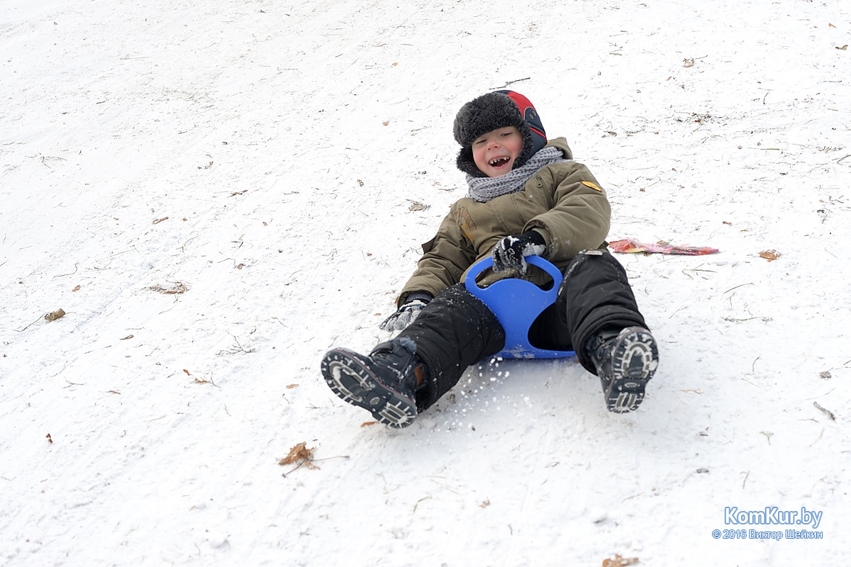 Зимние забавы в Бобруйске