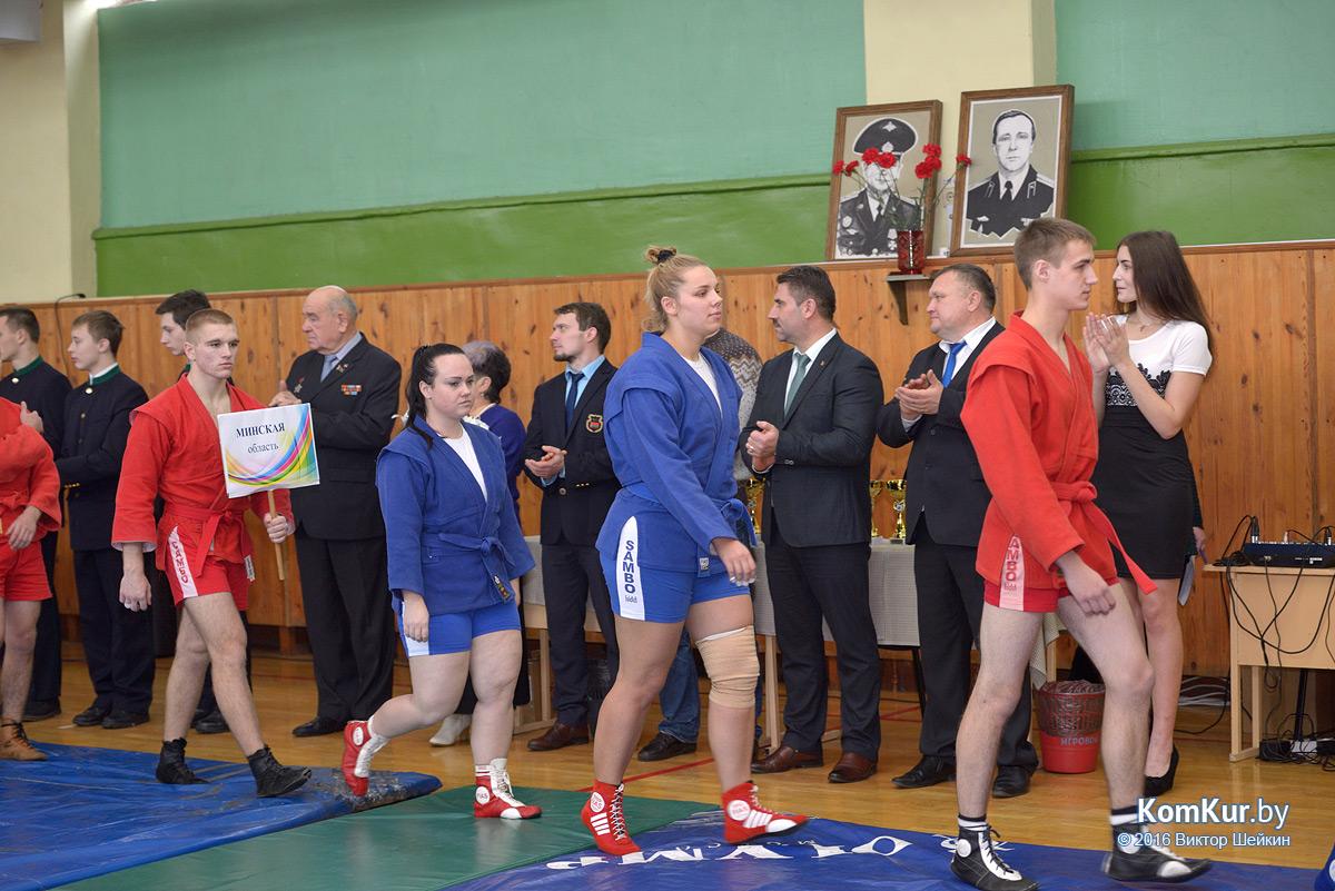 Турнир по самбо, посвященный памяти воинов-интернационалистов Александра и Станислава Ферко