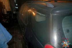 В Бобруйске парень сильно пострадал, пытаясь потушить свой Peugeot 306