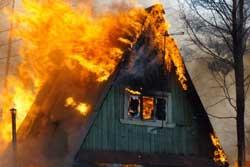 На пожаре в Бобруйске погиб человек