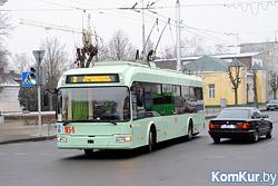 С 26 января по 31 марта в рабочие дни изменится время начала и окончания движения городских троллейбусов