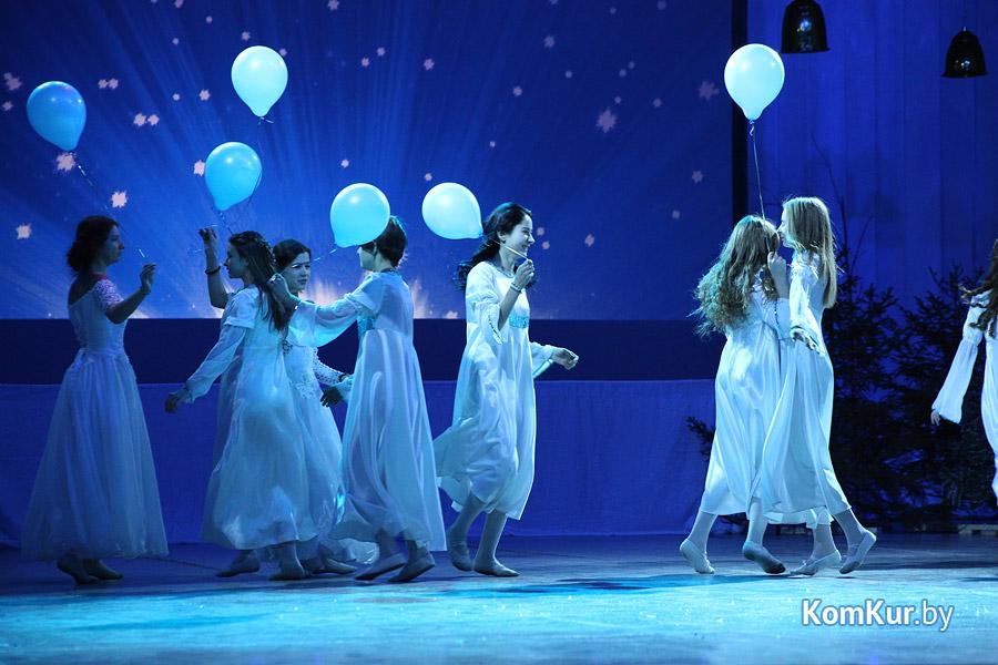 В Бобруйске сыграли Рождественскую историю
