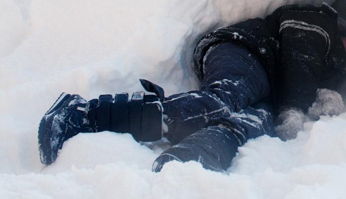 В Бобруйске на улице насмерть замерз мужчина