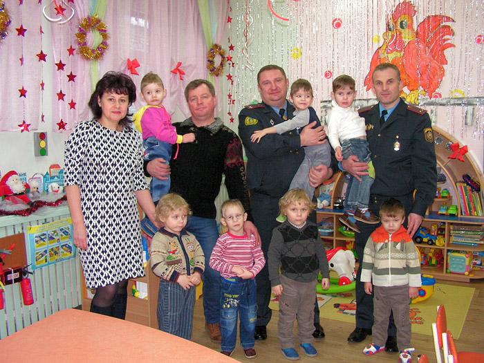 Рождественская радость от Бобруйского отдела департамента охраны