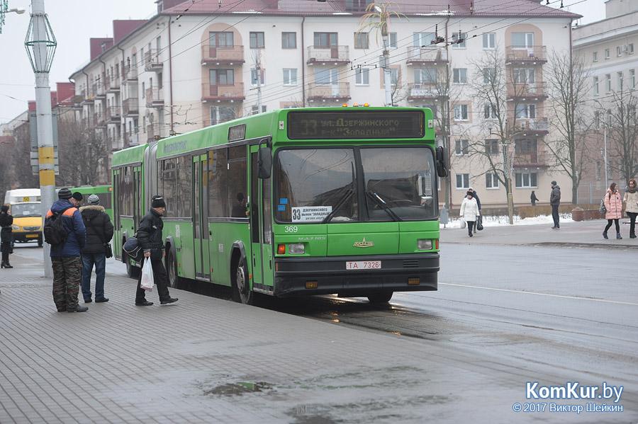 Общественный транспорт Бобруйска пережил «ледниковый период»