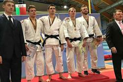 Бобруйские дзюдоисты – вторые на чемпионате страны