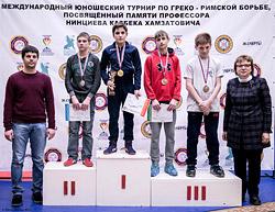 Питерские медали бобруйских борцов