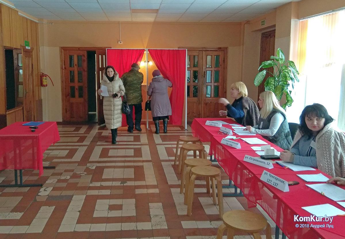 Как проголосовали бобруйские избиратели
